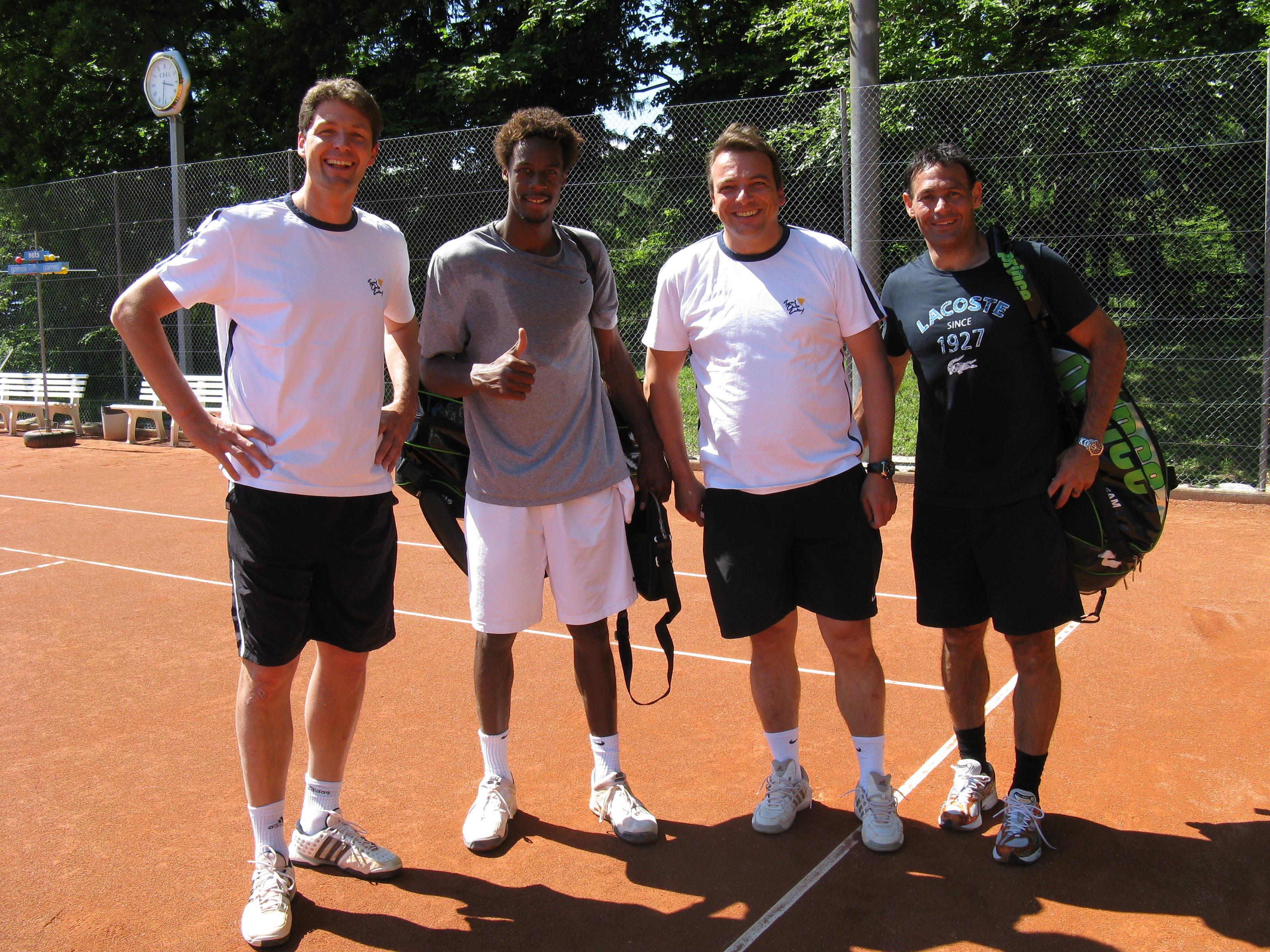 Préparation pour Roland-Garros!
